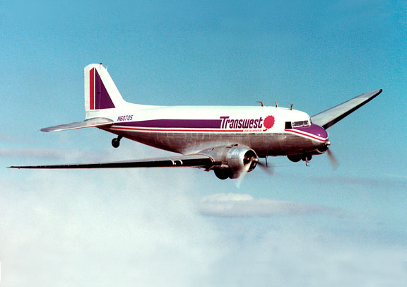 Transwest DC-3