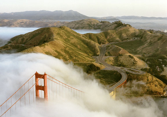 The Golden Gate Bridge and the Marin Headlands, Summer