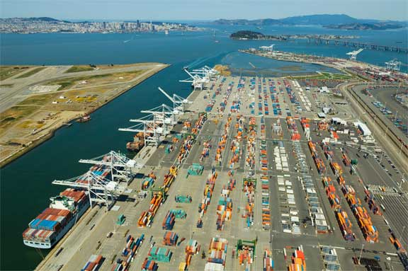 Port of Oakland - Hanjin Terminal