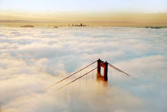 Fog and the Golden Gate Bridge